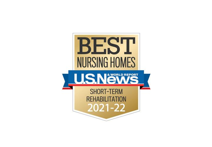 Hebrew Rehabilitation Center has been awarded the highest rating for short-term rehabilitation from U.S. News & World Report.