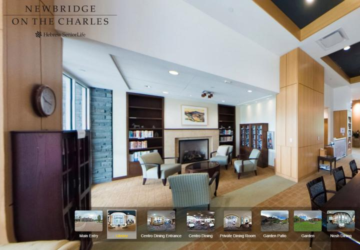 Take a virtual tour of Independent Living at NewBridge on the Charles.