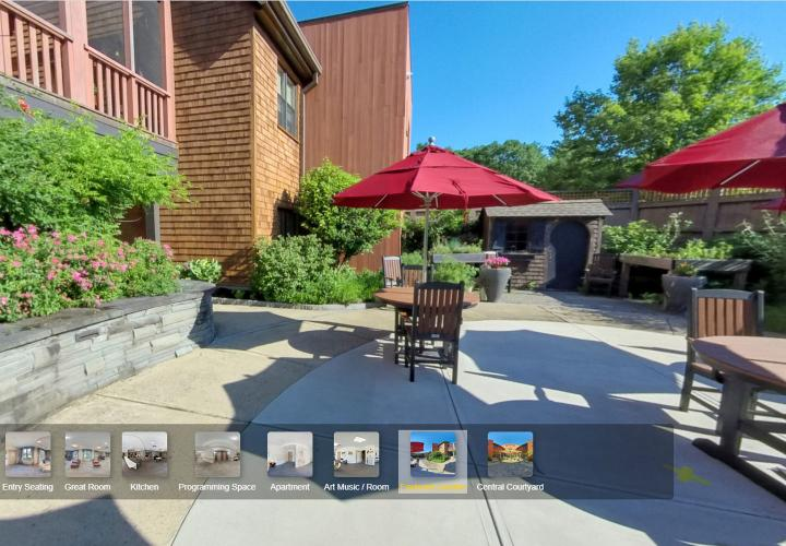 Take a virtual tour of Memory Care Assisted Living at NewBridge on the Charles.